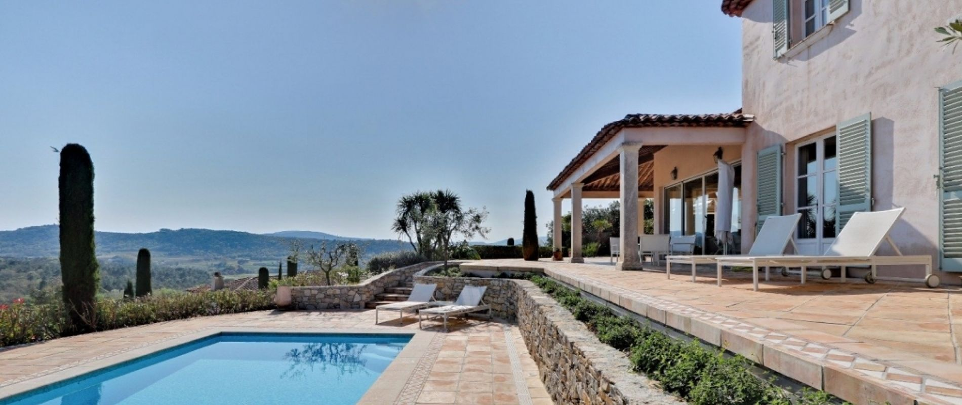 villa saint tropez golf