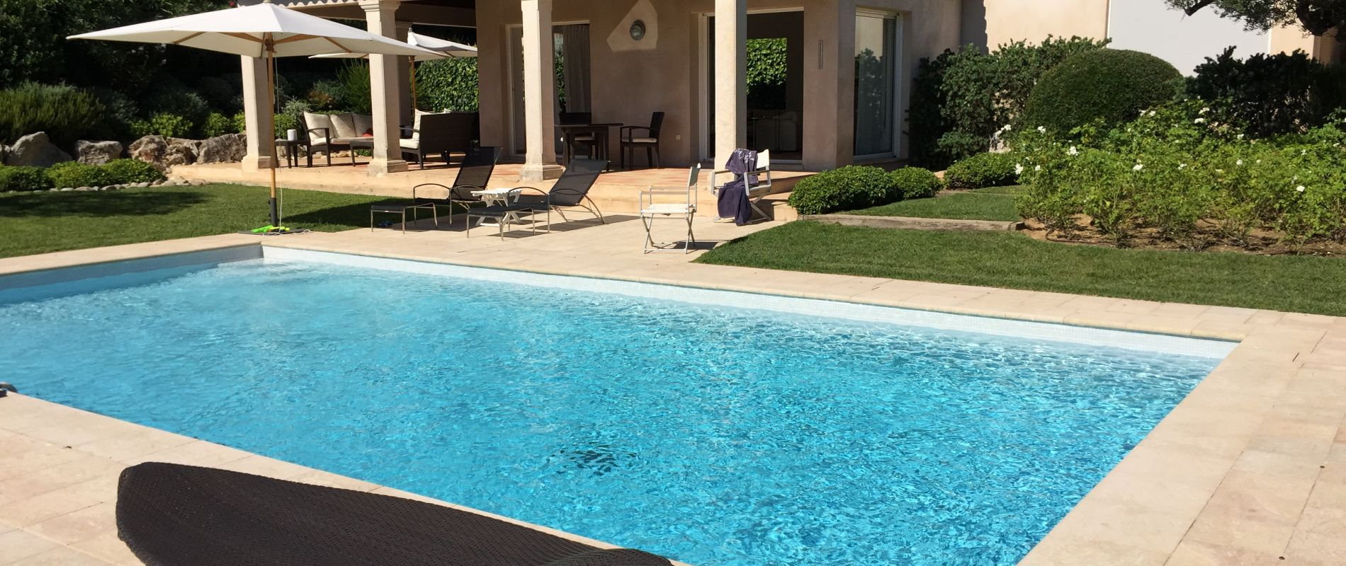 villa piscine saint tropez golf