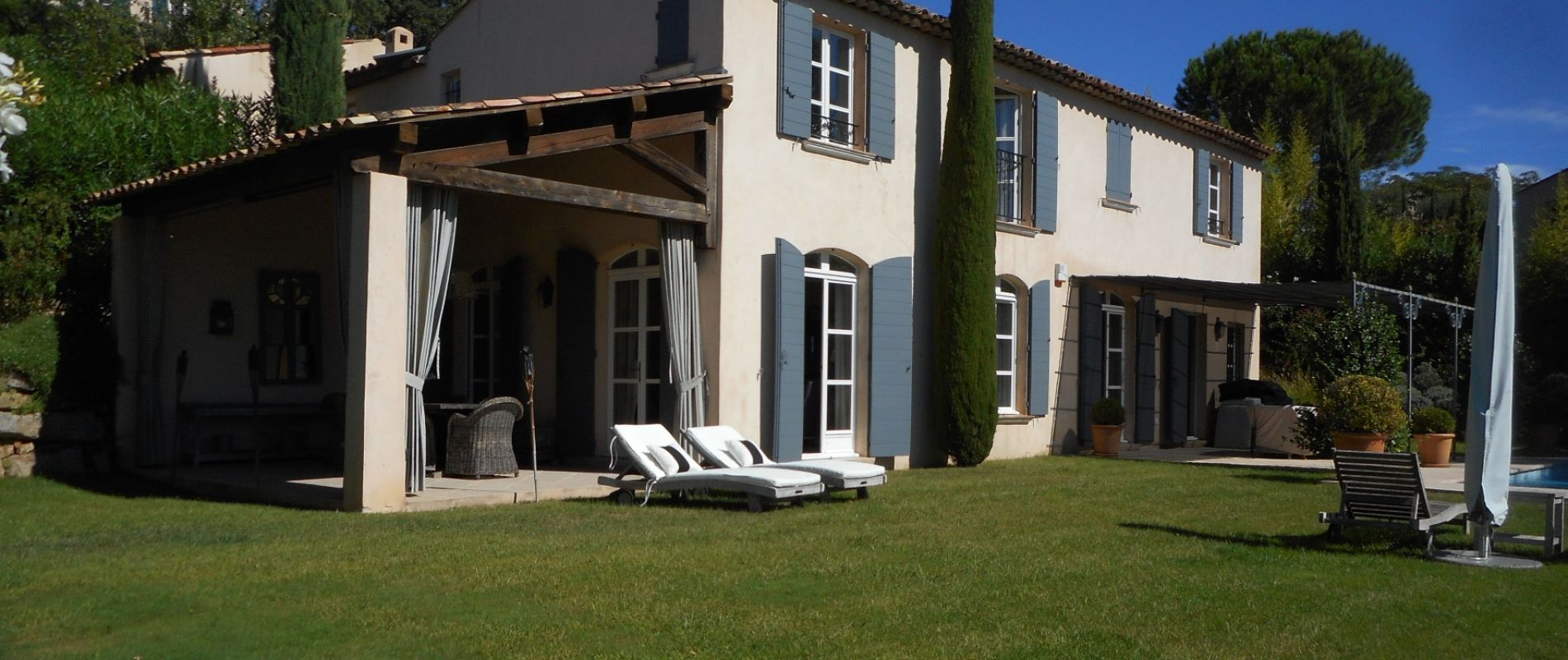 villa pool saint tropez golf