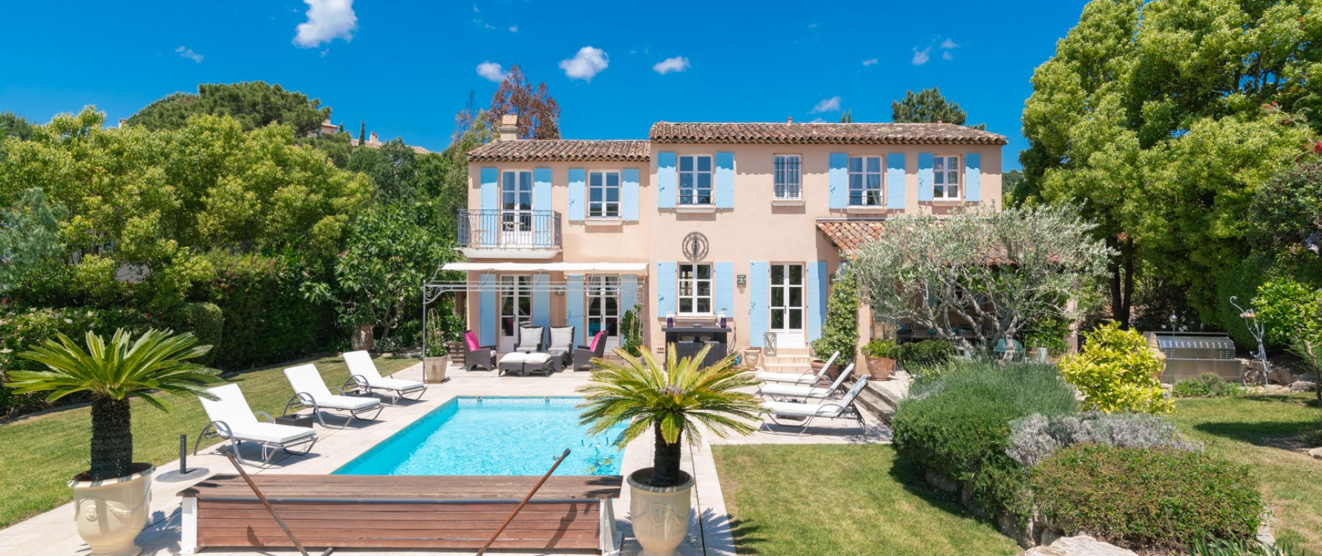 villa golf saint-tropez